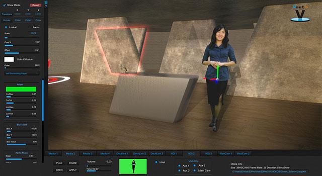 Vset3D Media Menu