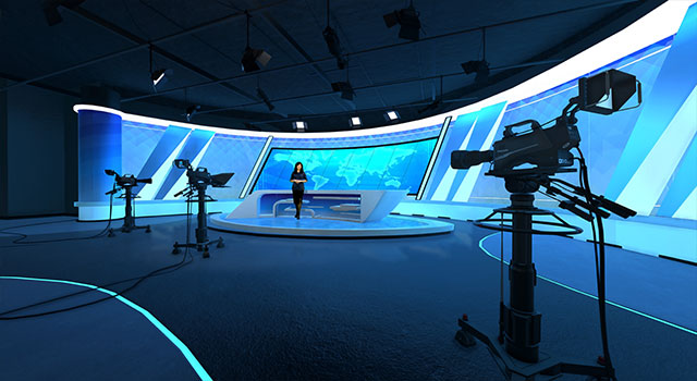 Vset3D Virtual studio decor
